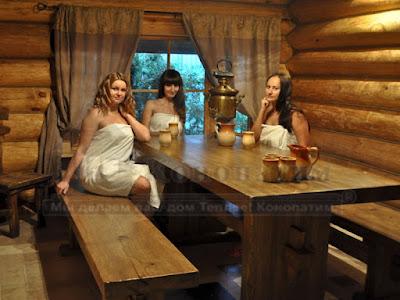 Конопатка - Макаровские бани!