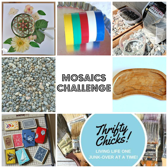 Fun Mosaic Projects From the Thrifty Chicks