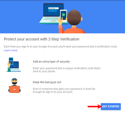 2 step verification on kaise kare