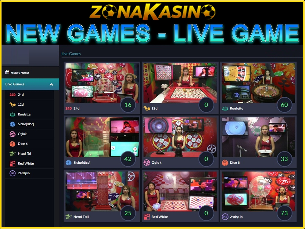 NEW GAMES - LIVE GAME