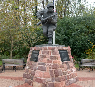 Major Richard Dick Winters Monument in Ephrata Pennsylvania