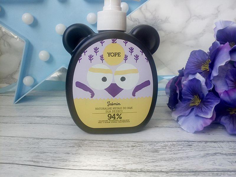 Naturalne mydło do rąk dla dzieci - jaśmin | Yope