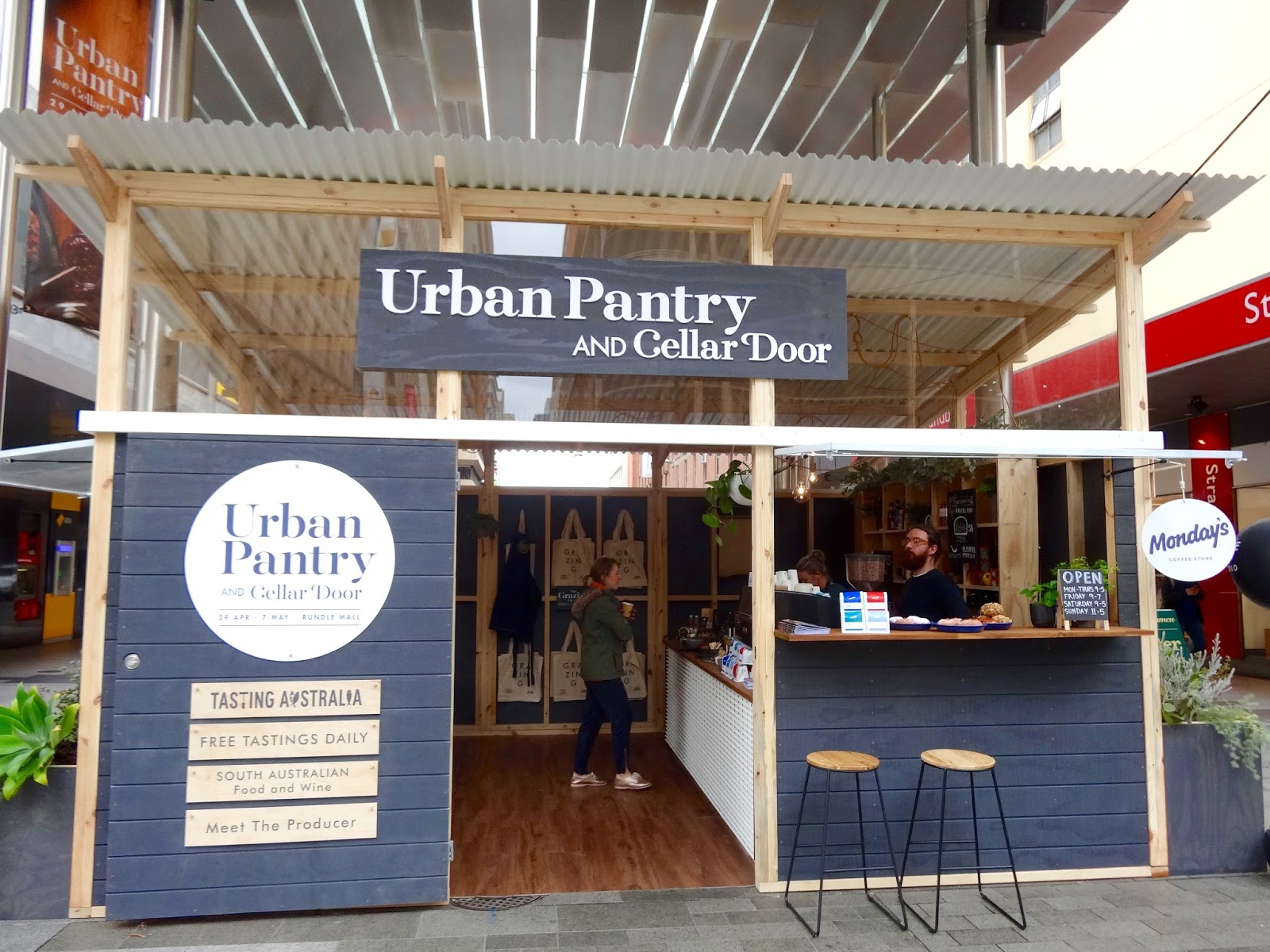 Rundle Mall's Urban Pantry