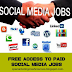 Get Free Access To The Best Paid Social Media Jobs