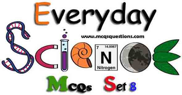 Everyday Science MCQs with Answers Set 8