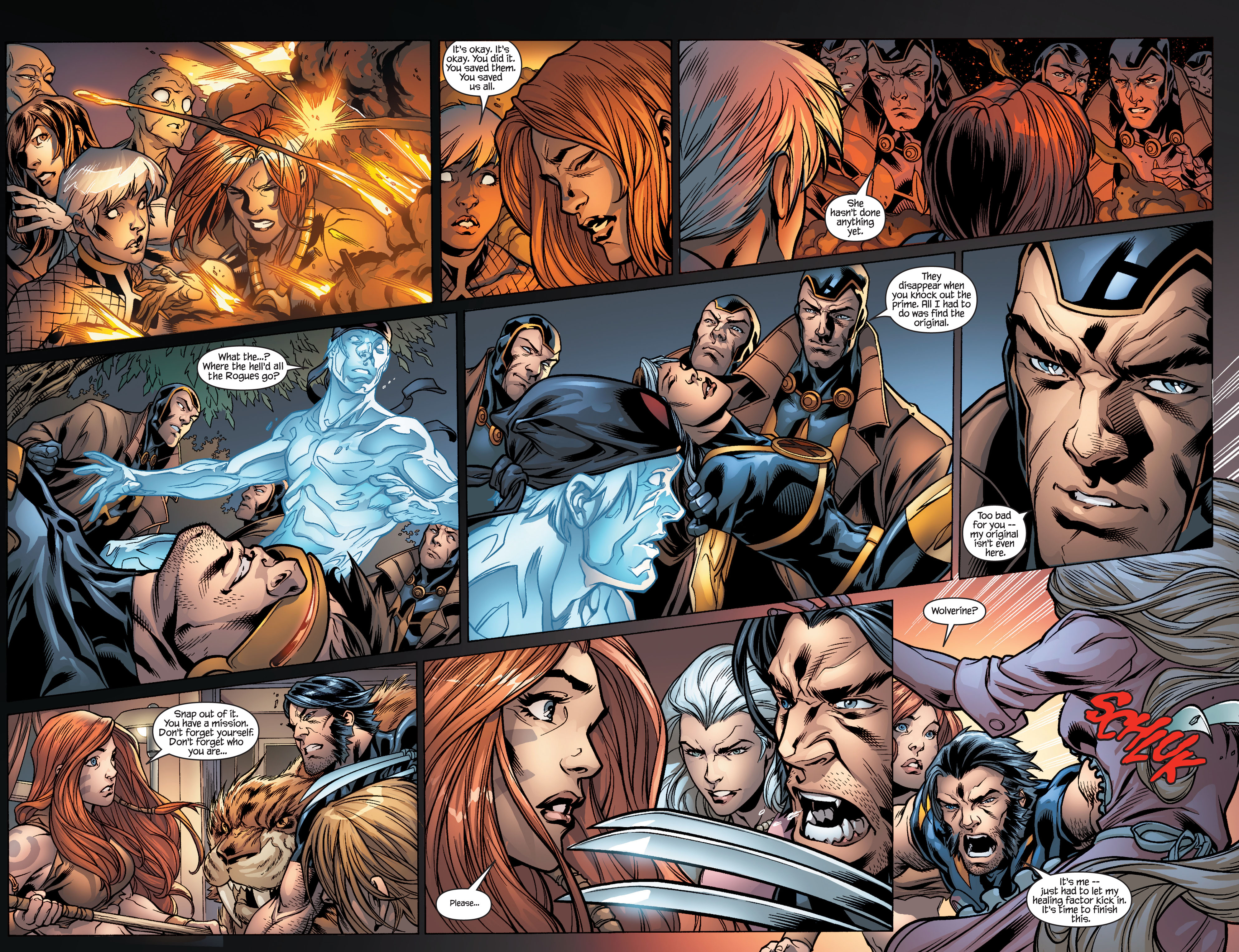 Read online Ultimate X-Men comic -  Issue #100 - 21