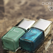 Dior Summer 2013 Bird of Paradise Nail Lacquer Duo in 001 Samba Review, Photos, Swatches, Nail Wheels, Comparisons