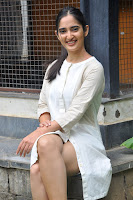 Radhika Cute Young New Actress in White Long Transparent Kurta ~  Exclusive Celebrities Galleries 033.JPG