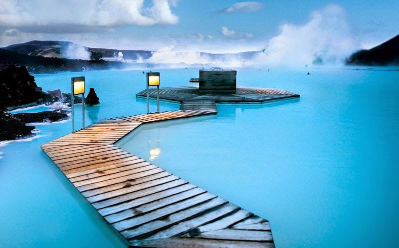 5. Blue Lagoon Geothermal Spa, Iceland - 5 of the Most Relaxing Natural Baths in The World