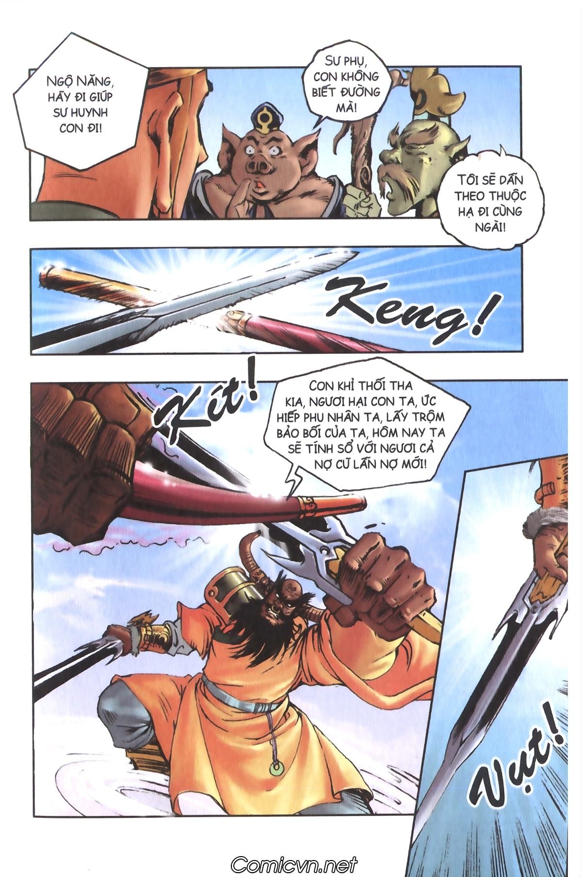 Tây Du Ký màu - Chapter 108 - Pic 8