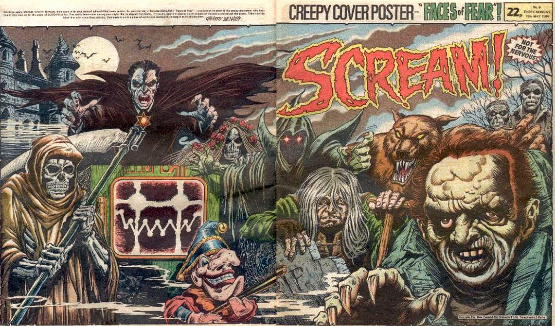 scream horror comic cbr