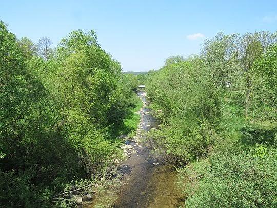Rzeka Ropa.