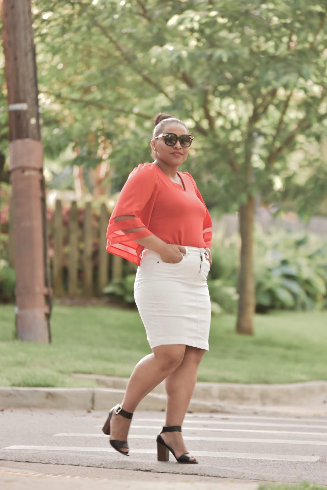 lookbook store, summer outfits, summer outfit ideas, dc bloggers, mom bloggers, white skirt, midi skirts