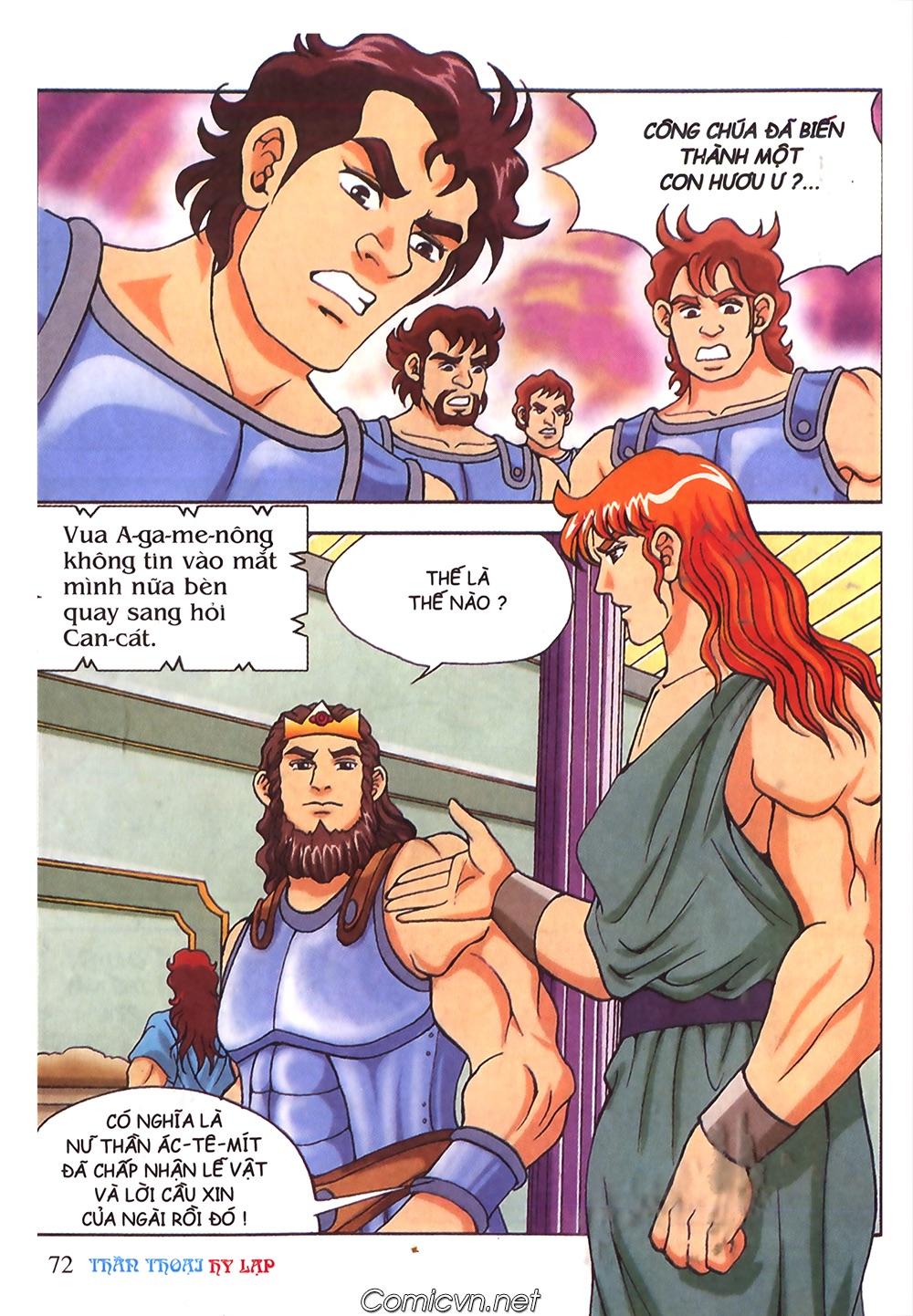 Thần Thoại Hy Lạp Màu - Chapter 53: Trước giờ xung trận - Pic 36