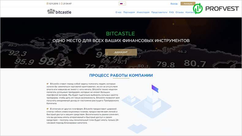 Bitcastle обзор и отзывы HYIP-проекта