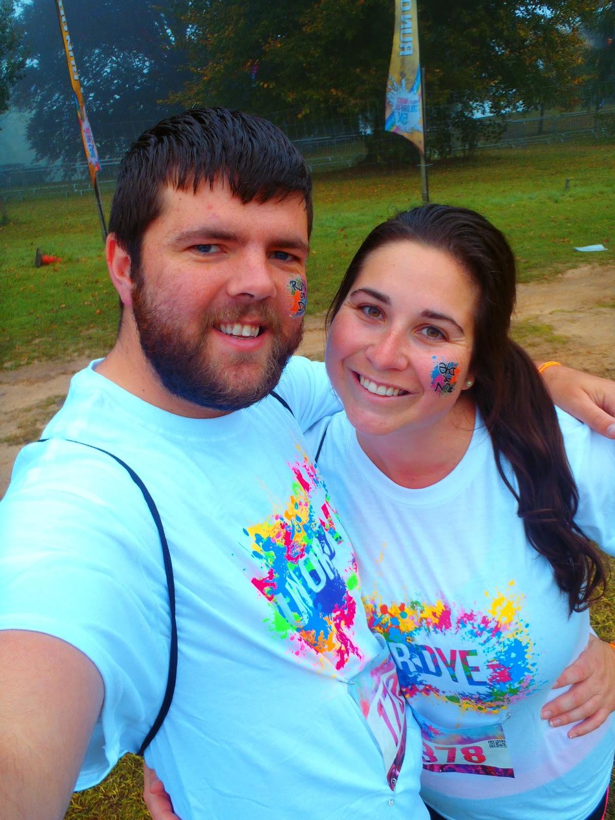 Clean before Run or Dye at Hever Castle