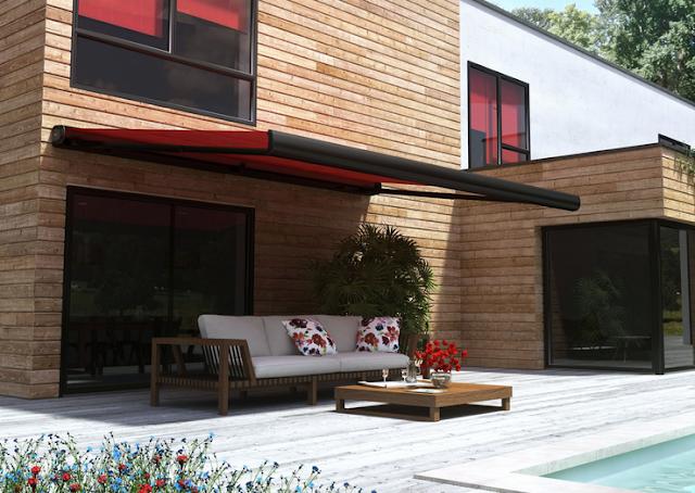 Un nouveau regard un store terrasse pour notre nouvelle for Store pour terrasse maison