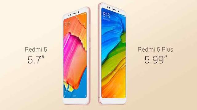 Xiaomi resmi merilis perangkat terbarunya Xiaomi Redmi 5 dan Redmi 5 Plus. Dua perangkat yang memiliki kapasitas baterai besar dengn harga menarik ini dirilis Kamis (7/12/2017).
