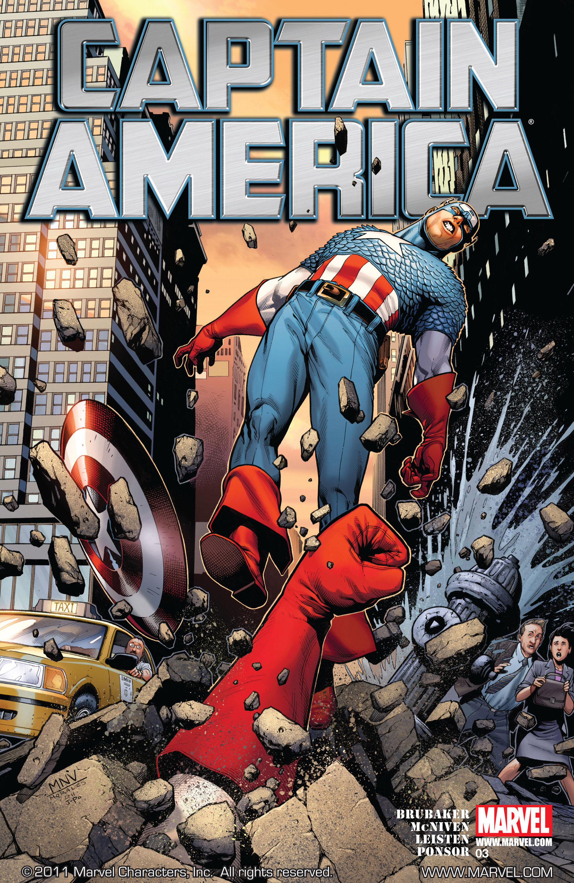Captain America (2011) 3 Page 1