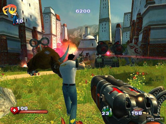 تحميل لعبة سيريوس سام serious sam 2 كاملة برابط مباشر للكمبيوتر من ميديا فاير مضغوطة
