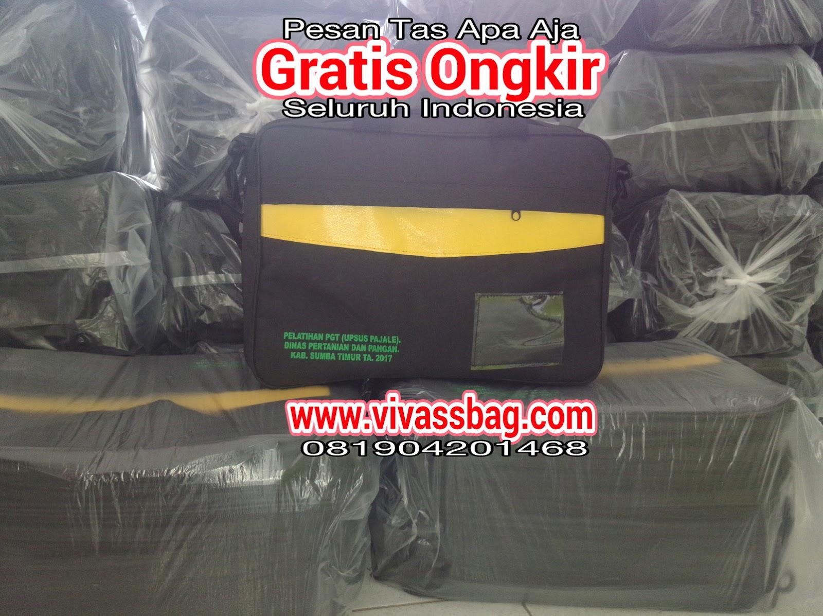 Vivass Bag sebagai pabrik tas seminar unik murah memberikan gratis ongkir  seluruh Indonesia saat ini Alhamdulillah mendapatkan kepercayaan dari Dinas  ... 40e0babb7e