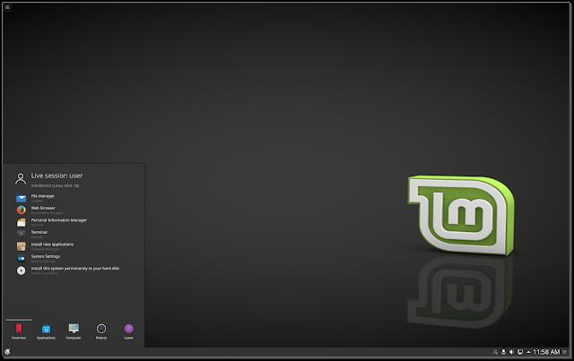 Linux Mint 18 Sarah KDE edition
