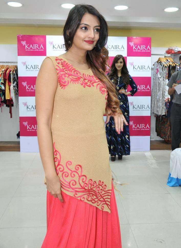 Nikitha Narayan At Kaira Ugadi Festive Collection Launch In Pink Dress