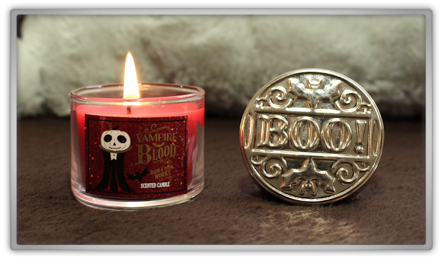 Bath and Body Works huge fall autumn Haul Review home fragrance BBW beauty blogger scented candle mini vampire blood halloween booh cozy favorites