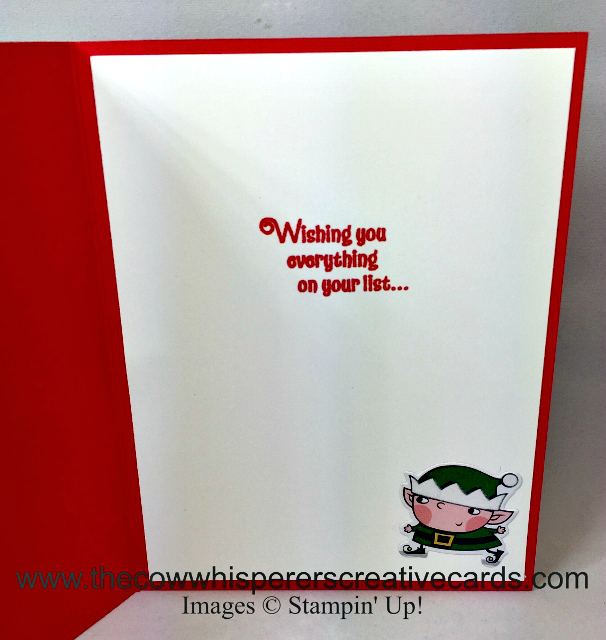 Card, Signs of Santa, Santas Signpost Feramelits, Santa's Workshop Specialty Designer Series Paper, Spinner Card