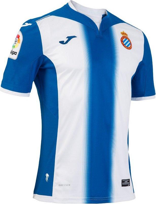 ed0a8b4b18 Joma apresenta as novas camisas do Espanyol - Show de Camisas