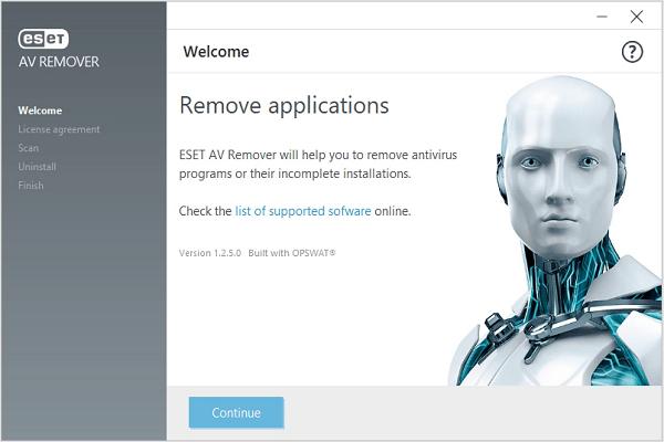 تحميل برنامج ESET AV Remover لإلغاء تثبيت البرامج وحماية الكمبيوتر آخر إصدار