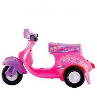 motor mainan anak scooter dorong