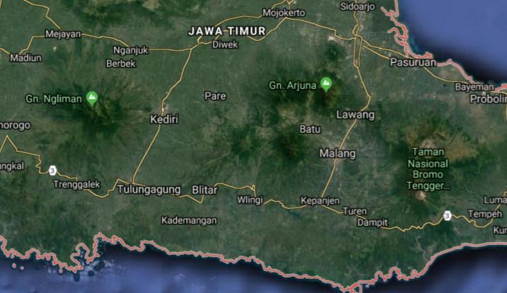 5 Peta Jawa Timur Terbaru Lengkap Penduduk 2015 42 030