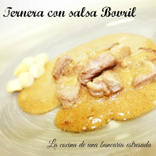 Receta de bistec de ternera con salsa Bovril paso a paso