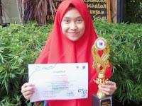 Siswi MTsN 1 Malang Juara 1 Dalam Language Festival Se-Kota Malang