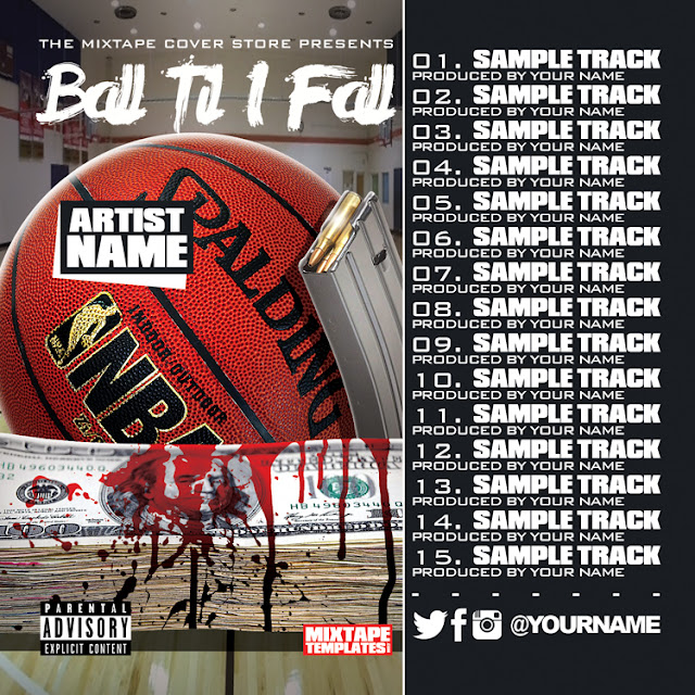 Mixtape Cover With Tracklist