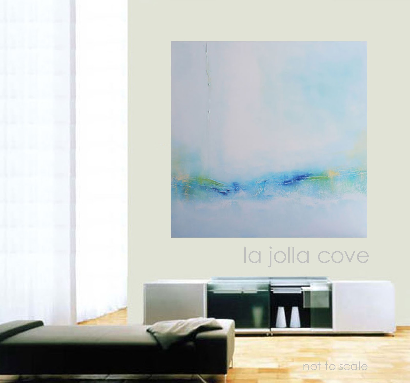 Abstract Original Art Paintings Modern Expressive Landscapes Diy Decorating Idea Best
