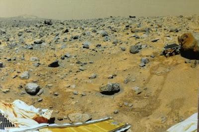 Rover Sojourner en Marte