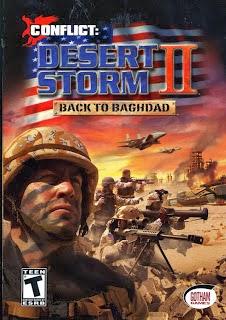 تحميل لعبة عاصفة الصحراء Conflict Desert Storm 2 الحربية القتالية للكمبيوتر مجاناً