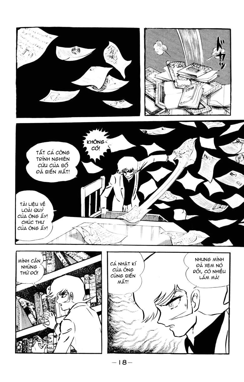 DevilMan chapter 22.1 trang 14