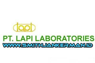 Lowongan PT. LAPI Laboratories Pekanbaru Maret 2018