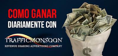 Ganar Con TrafficMonsoon Dinero Facil