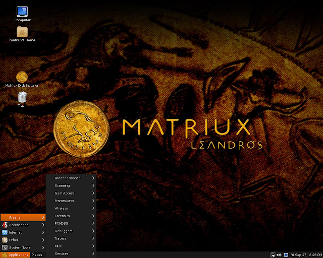 Matriux: A Fully Featured Security Distribution Cyber Forensic Tool