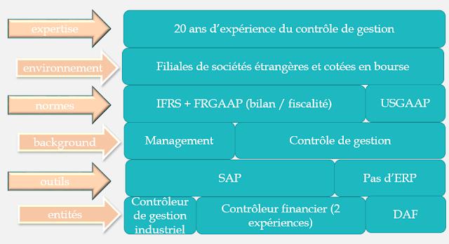 CV contrôleur de gestion