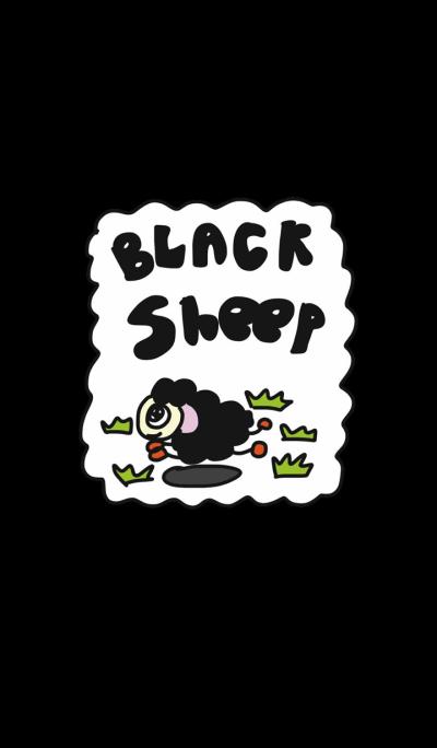 Funny Black sheep