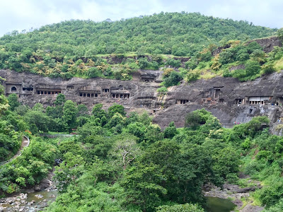 Overview of Ajnta caves