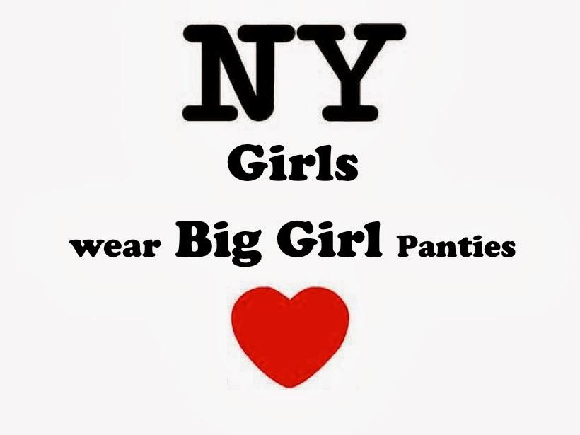 the surviving Mormon couple: New York Girls Wear Big Girl