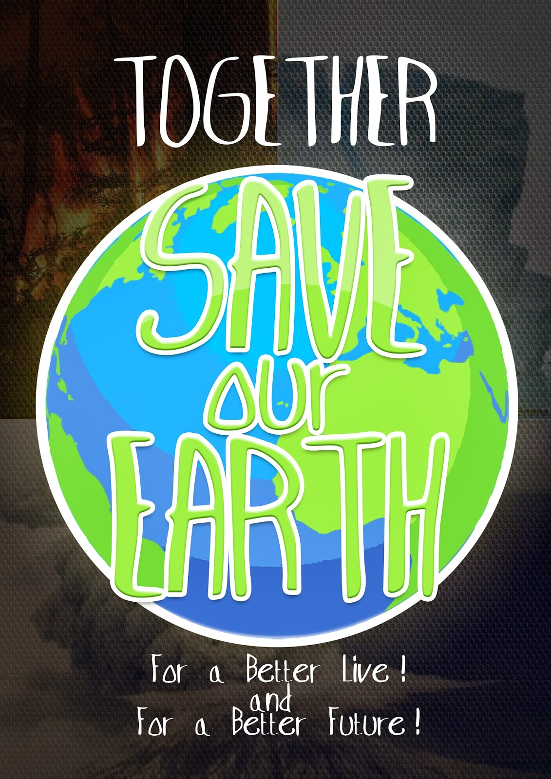 APRILIA DRPW Poster Save Our Earth