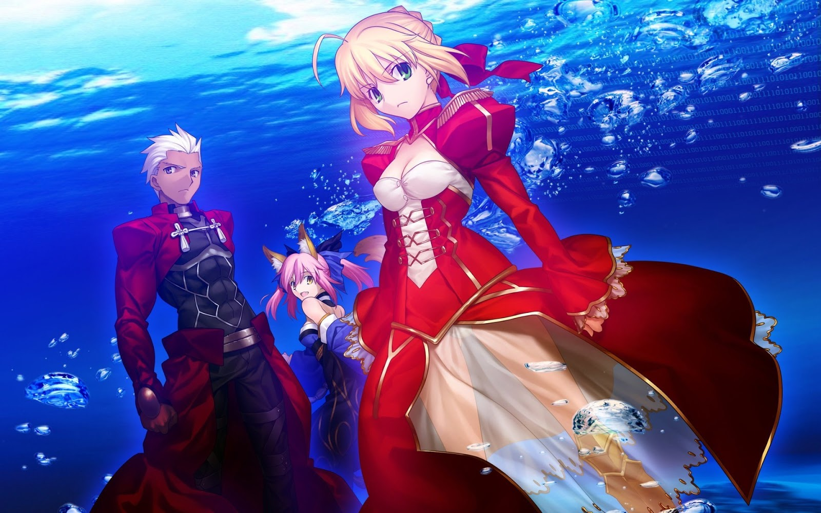 Fate/Extra Last Encore Anime  New Poster And Promo Video Revealed.