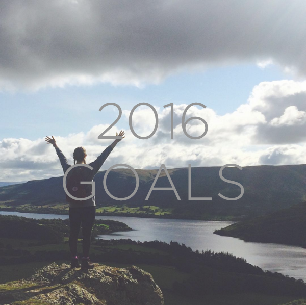 Alice Mary Barnes Wellbeing Goals for 2016